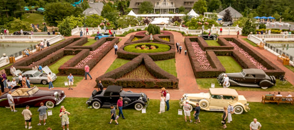 Cars at the Elegance at Hershey