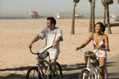 Take Advantage Of The Free Bike Valet At Pe In Downtown Huntington Beach