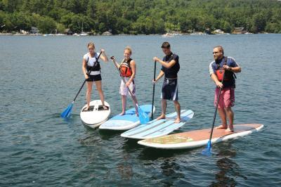 Lake George PaddleboardGroup - Photo Courtesy of Warren County Tourism