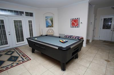 2018 Beach House Giveaway game room