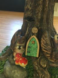 Irish Fairy door in the Dublin Visitor & Information Center