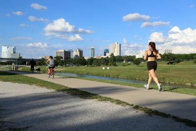 Trinity Trails walk run