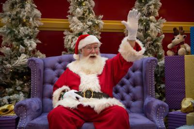 Santa at Cherry Creek Shopping Center