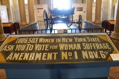 Suffrage NYS Capitol