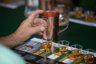 DIF Irish Whiskey Tasting