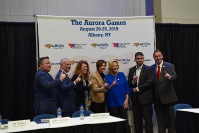 Aurora Games press conference