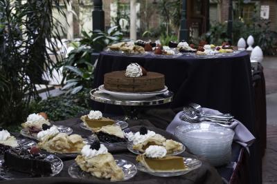 Desmond Thanksgiving desserts