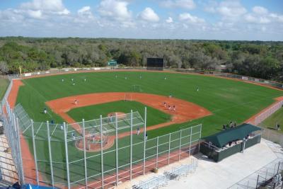 North Charlotte park baseball field