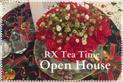 RX Tea Open House Holiday