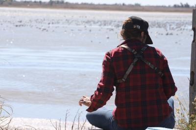 Birding at Quivira NWR - Laura Mendenhall