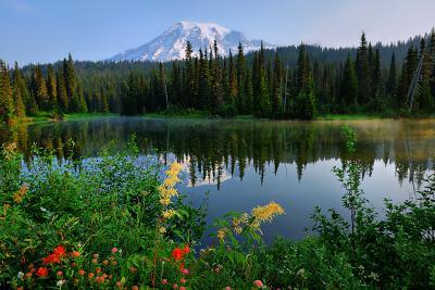 Reflection Lake at Mount Rainier