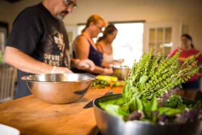 New Earth Farm- Cooking Class