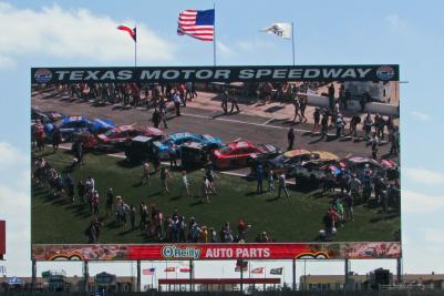 Bigg Hoss TV at Texas Motor Speedway