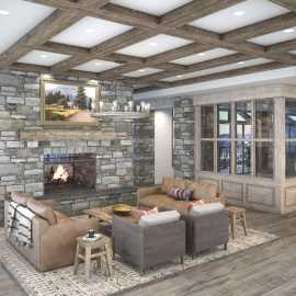 Alta Snowpine Lodge - Lobby