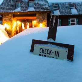 snow checkin
