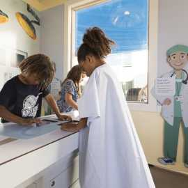 Intermountain Saving Lives exhibit at Discovery Gateway Children's Museum