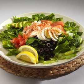 Krab & Avocado Salad