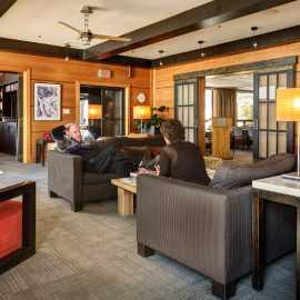 The Alta Lodge lobby.