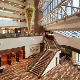 Hotel Atrium - Allie's Entrance