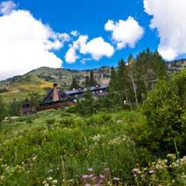Alta Lodge during summer season