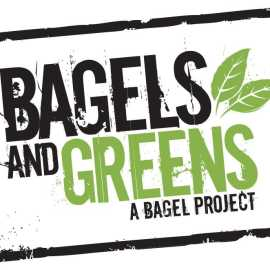 Bagels and green