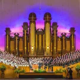 Mormon Tabernacle Choir - longest running broadcast in the world