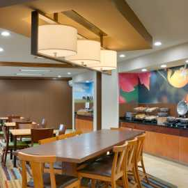 Complimentary Hot Breakfast is served at Fairfield Inn and Suites by Marriott Salt Lake City Airport