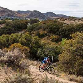 Corner Canyon Trail system, photo by Kyle Jenkins