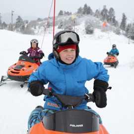 Mini-Snowmobiles 2