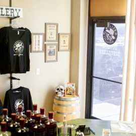 Outlaw Distillery Entrance