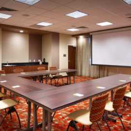 Copper meeting room