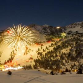 New Year's Eve Torchlight Parade, Fireworks & Bonfire