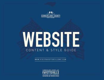 Website Content & Style Guide