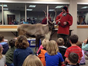 Silly Safari Reindeer Reserve at the Plainfield Library