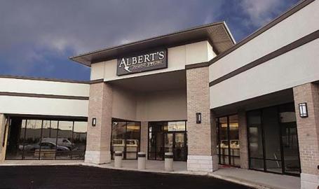 Alberts Jewelers Shopping Schererville Exterior