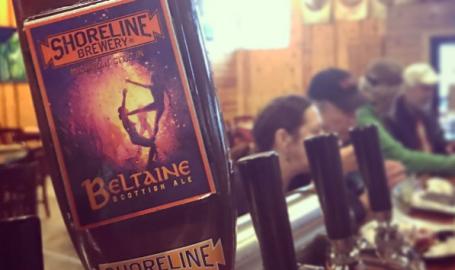 Belataine Scottish Ale at Shoreline Brewery