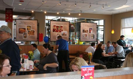 Chick-fil-a Restaurants Merrillville Interior