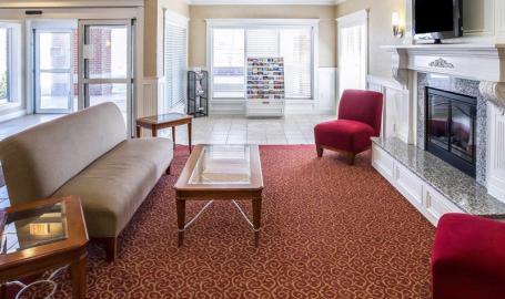 Comfort Inn Hotel Hebron lobby