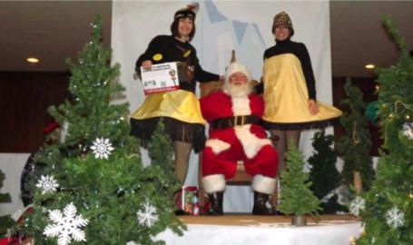 Downtown Hammond Council Holiday Kick Off Santa