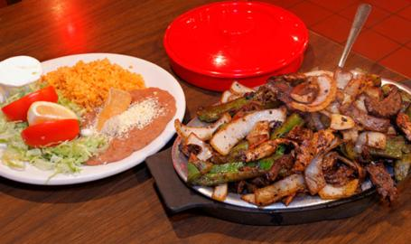 El Taco Real Hammond Mexican Restaurant fajitas