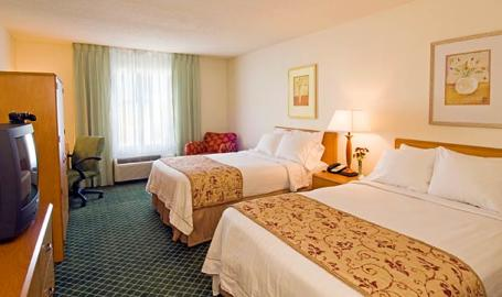 Fairfield Inn Hotel Merrillville Double