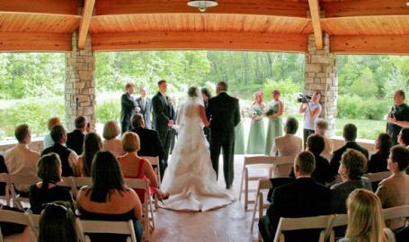 Gabis Arboretum Wedding Ceremony Venue Valparaiso