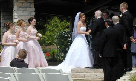 Gabis Arboretum Wedding Ceremony