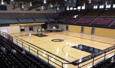 Hammond Civic Center basketball