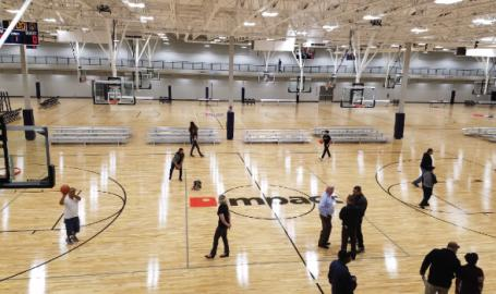 Hammond Sportsplex basketball