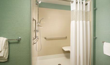 Hampton Inn Schererville Hotel bath