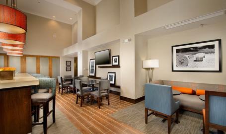 Hampton Inn & Suites Hotel Schererville Lobby