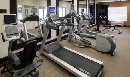 Hilton Garden Inn Merrillville Hotel fitness room