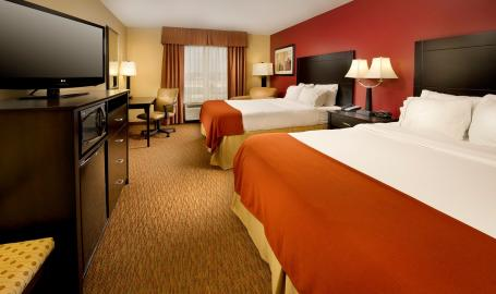 Holiday Inn Express Schererville Hotel Double