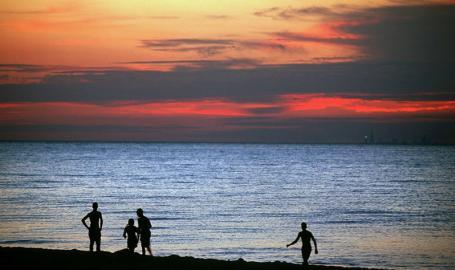 Indiana Dunes State Park Sunset